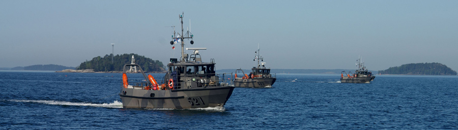 Kiiski-luokan raivausveneitä