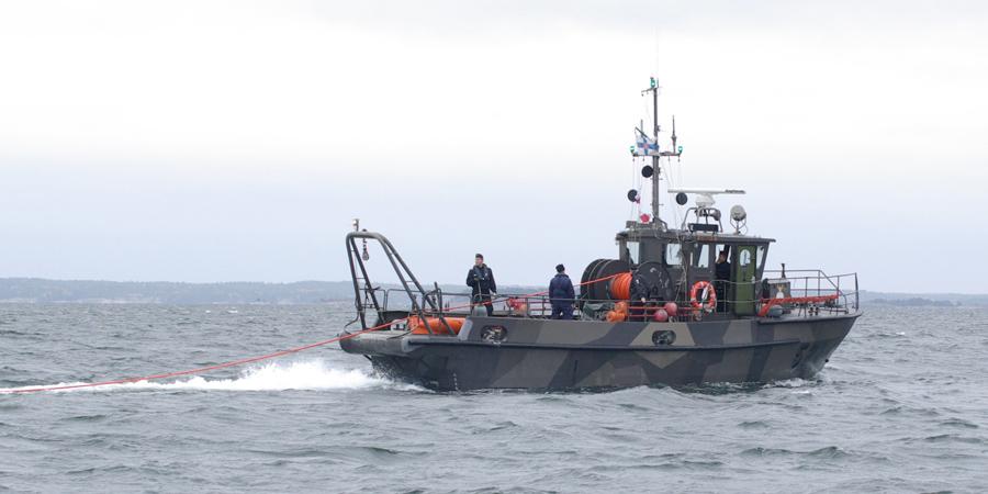 Kiiski-luokan raivausvene